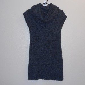 Nine West cowl neck sweater mini dress